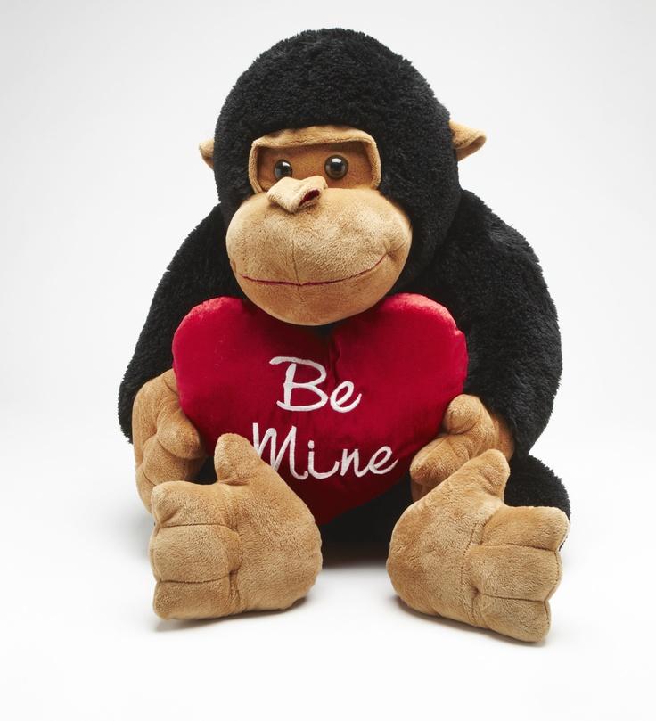 Target: Valentine Gorilla holding heart 57CM $29.00 .