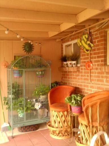Mexican style porch porches pinterest for Mexican porch designs
