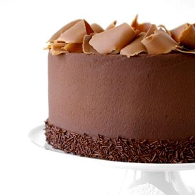 Triple Chocolate Ganache Torte | Cakes | Pinterest