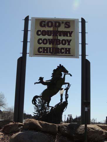 God's Country Cowboy Church  West Hwy 34 Loveland CO 80525