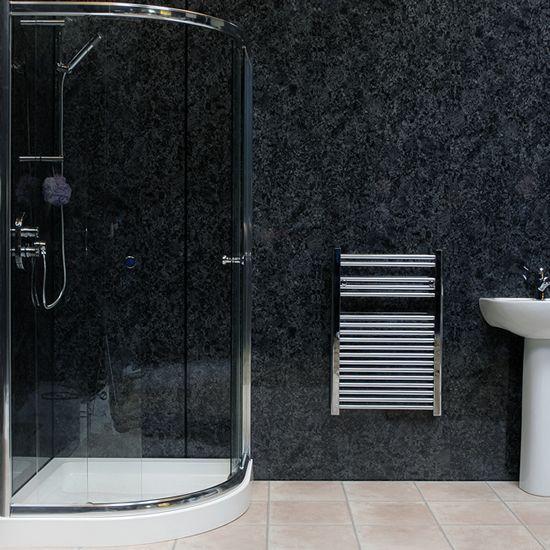 Install Decorative Wall Panels Bathroom Interior
