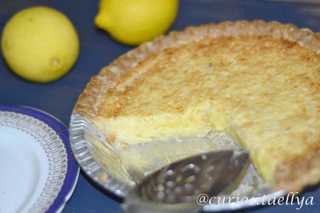 Curiositaellya: Lazy Ellyas Lemon Tart   sweets   Pinterest