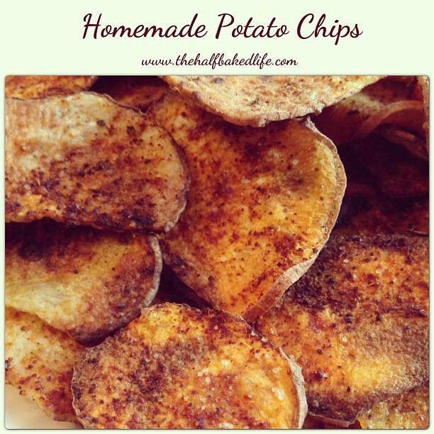 Homemade potato chips | recipes | Pinterest
