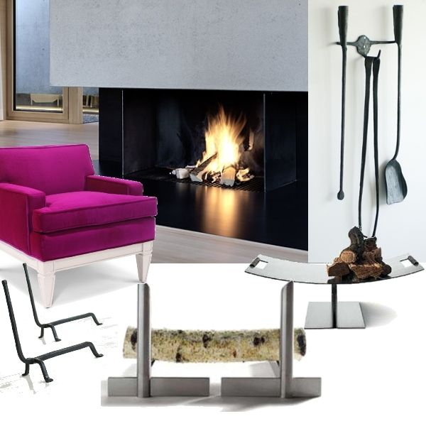 Modern Fireplace  #ProjectDecor