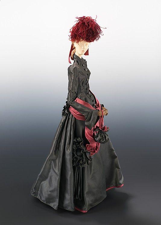 1878 Кукла от Дома Lanvin (металл, гипс, шелк, перья), 1949.  ММА