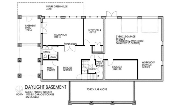 Daylight basement plans 28 images house floor plans for Daylight basement home plans