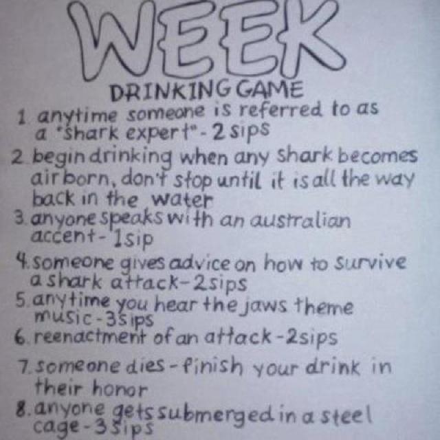 shark week game videos