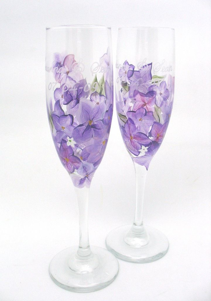custom toasting glasses crafts pinterest