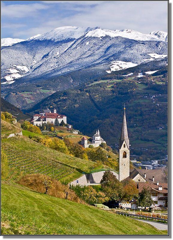Chiusa Italy  city photo : Tyrolean landscape, Chiusa, Italy | Favorite Places & Spaces | Pinter ...