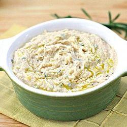 Lemon Rosemary White Bean Dip | Dip it & Spread it | Pinterest