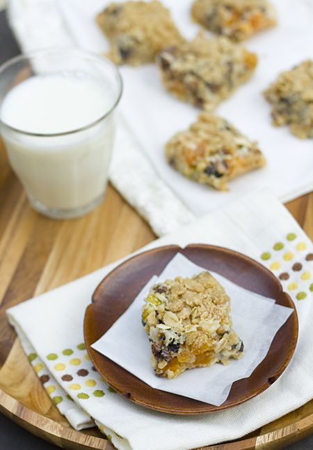 Apricot-Fig-Pistachio Cookie Bars | BARS AND BROWNIES | Pinterest