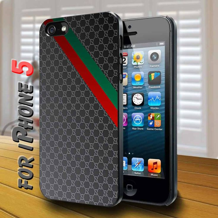 gucci handbag layer Black Case for iphone 5