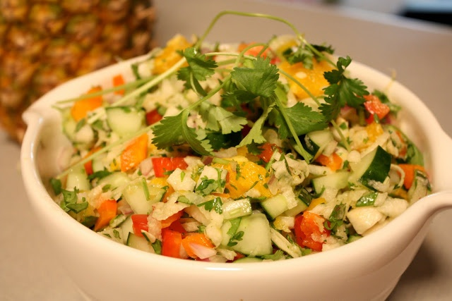 Jicama Salad | Food | Pinterest