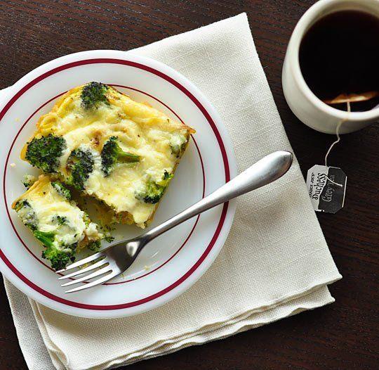 recipe broccoli amp spaghetti frittata recipes from the kitchn