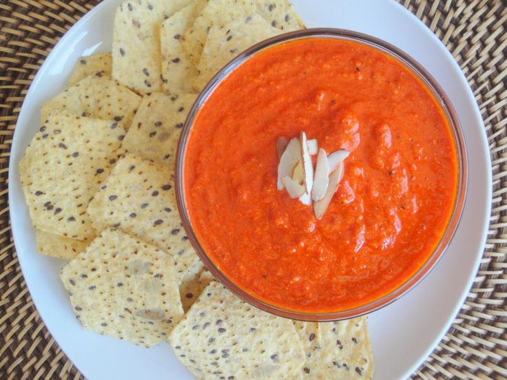 Roasted Red Pepper Dip | Appetizers | Pinterest
