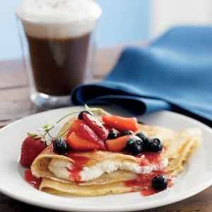 Recipe Roundup: Berries for Breakfast. Crepes with Berries and Ricotta ...