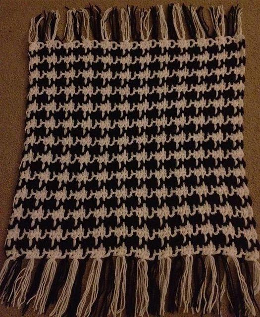 Crochet Stitch Houndstooth : Houndstooth Crochet - Blankets Pinterest