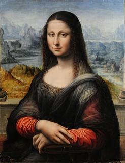 Mona Lisa copy may have been painted by
