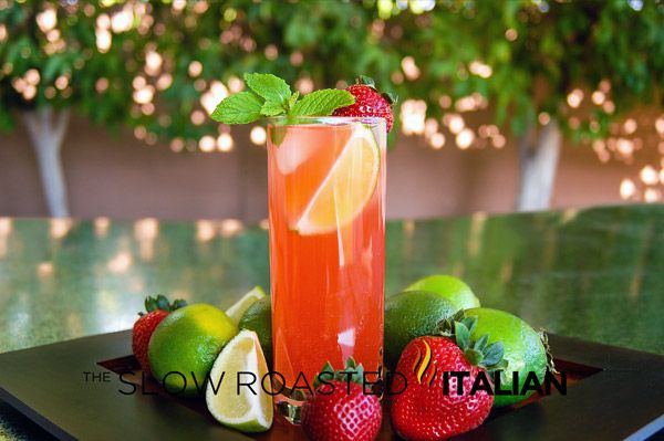 The Slow Roasted Italian: Tantalizing Strawberry Mojito - Ever want to ...
