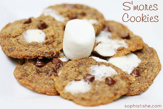 ... whole wheat s more cookies recept yummly whole wheat s mores cookies