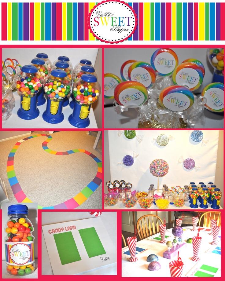 Candyland Birthday Party School Ideas Pinterest