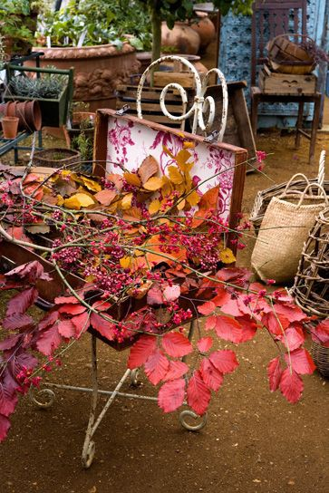Mod Vintage Life: Fall in the Garden | COTTAGE places, style, stuff ...