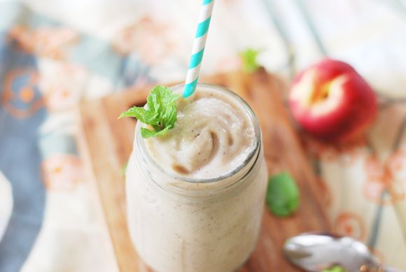Melon Peach Creamsicle Smoothie | Drink Up | Pinterest