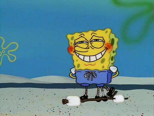 embarrassed spongebob -#main