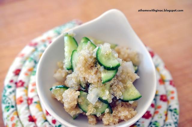 Cucumber Quinoa Salad | Bien Manger | Pinterest