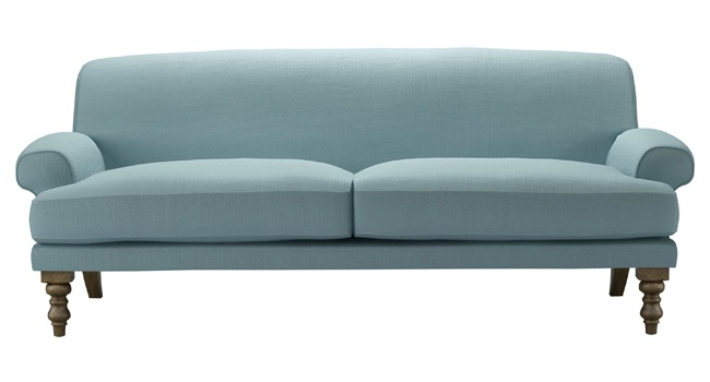Baby Blue Sofa : baby blue sofa.com  Beautiful Spaces / Beautiful Home  Pinterest