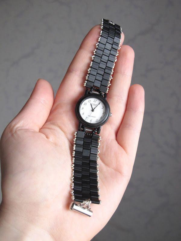 Своими руками браслет для ручных часов
