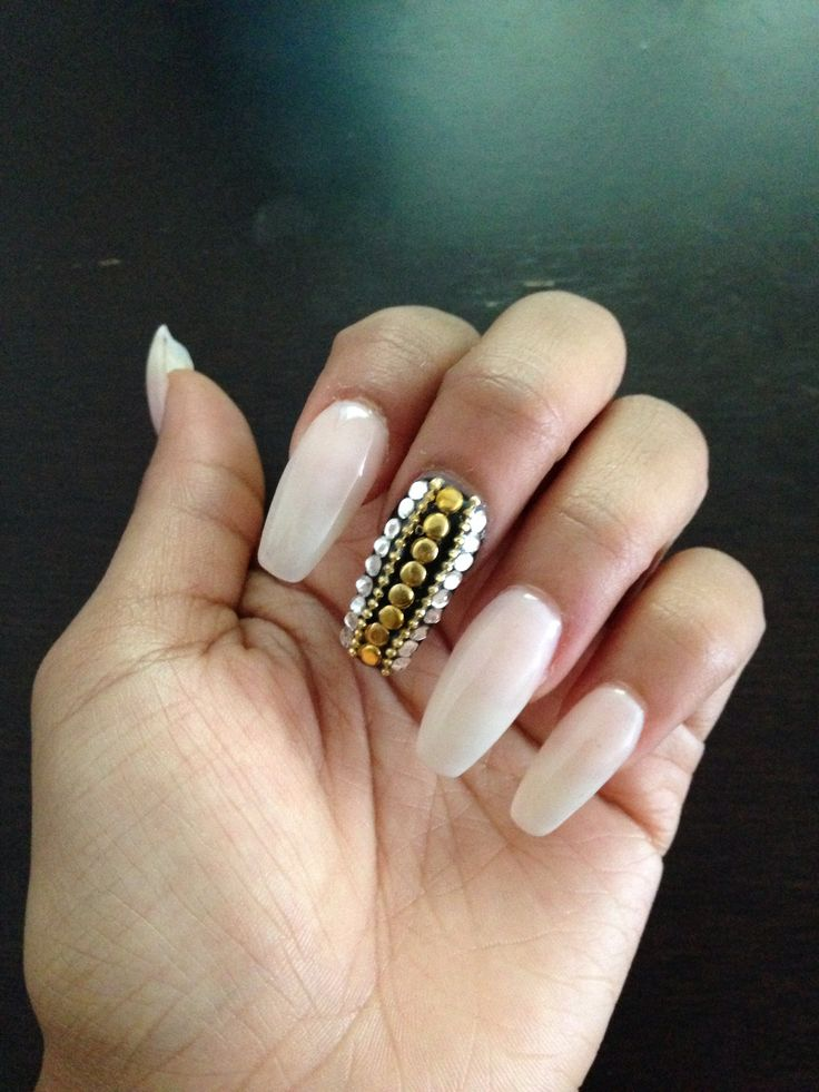 Nail Designs For Coffin : Go back gt gallery for coffin nail shape designs