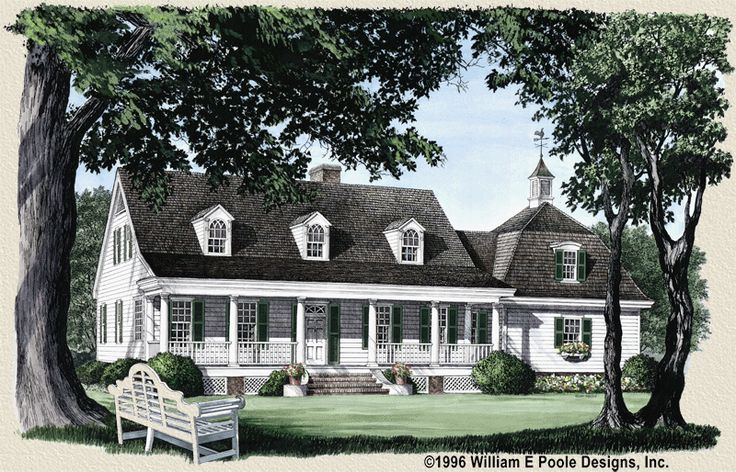 Planters Cottage By William E Poole Homes I Love
