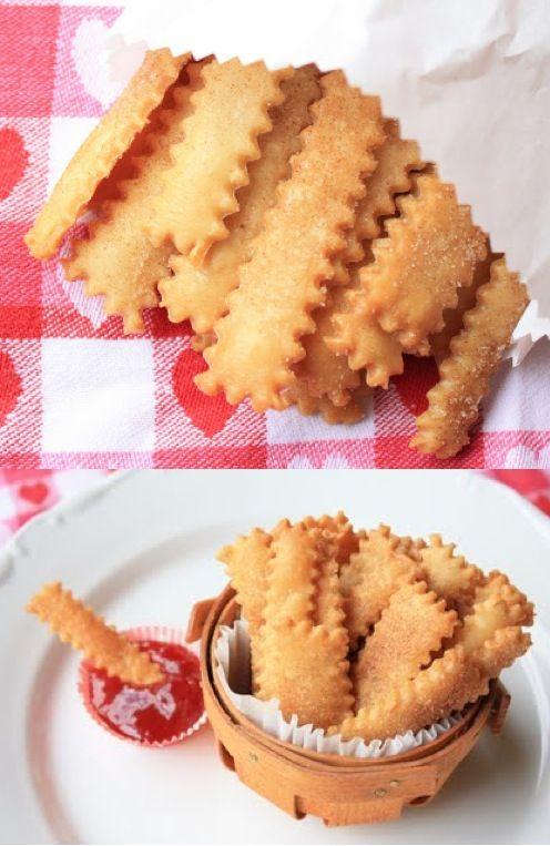 Yummy Pie Fries!!! | Great Ideas | Pinterest
