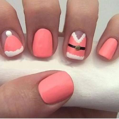 Mrs. Claus | Nails | Pinterest