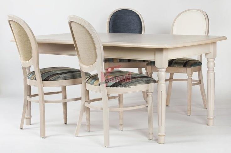 Fameg zestaw pokojowy - krzesła i stół