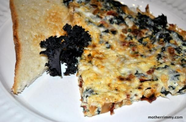 and kale frittata this dish serves a crowd and is perfect for family ...