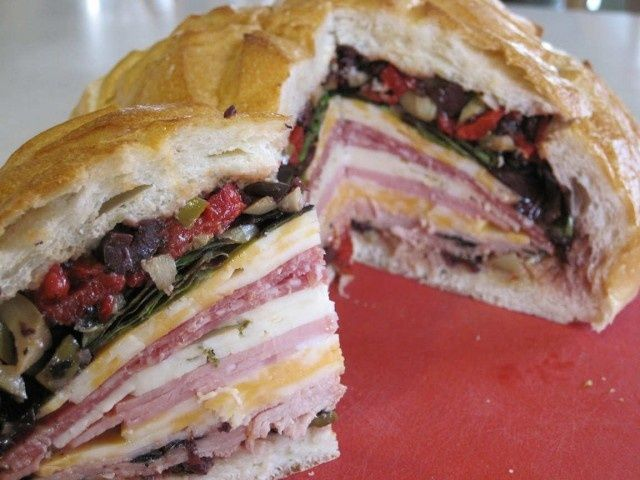 Muffuletta Sandwich | amazing recipes | Pinterest