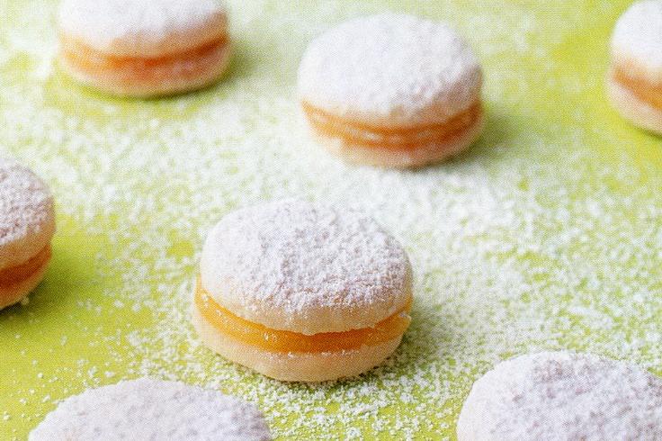 Petite Lemon Curd Cookies | Recipe