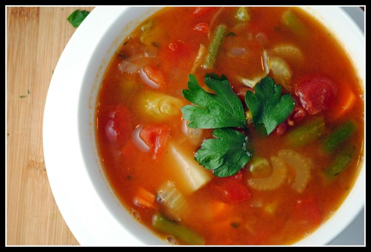 Best Vegetable Soup Use carrots, tomato, Italian parsley, and green ...