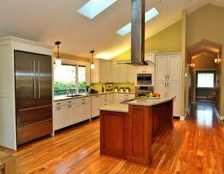 bi level open kitchen kitchens pinterest
