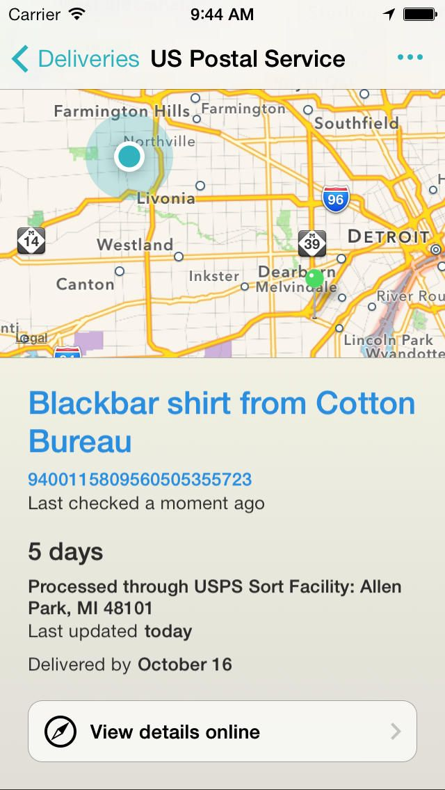 best delivery tracking app for iphone