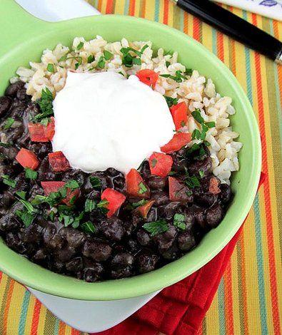 cuban-style black bean bowls | Tacos | Pinterest