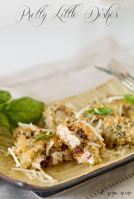 Sun Dried Tomato & Pesto Chicken - #recipe # pesto #basil #garden # ...
