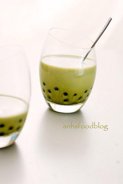 Matcha Bubble tea :) mmmhh | Makes My Tummy Rumble | Pinterest