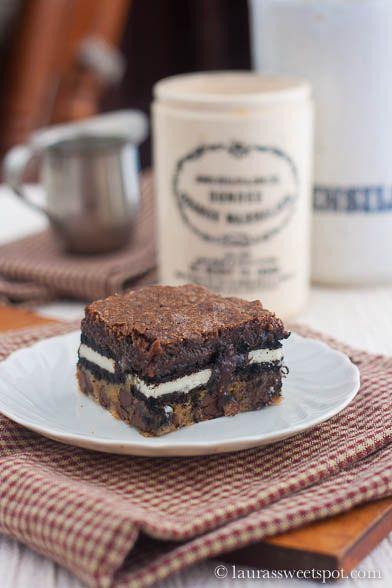 slutty brownies | Feeding my Sweet Tooth (Baked Treats) | Pinterest