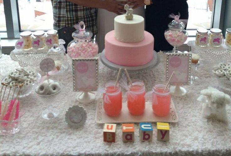 Lamb Theme Baby Shower ideas