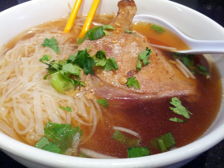 duck pho in singapore and duck pho as you can see the duck and the ...