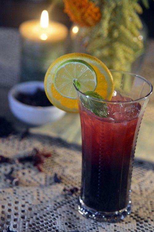 Agua de Flor de Jamaica – Hibiscus Tea | Corazón en un Platillo ...