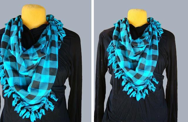 no sew scarf diy